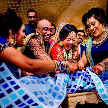 Allianz Park Hindu wedding photographer | Olivine Studios